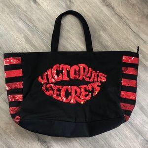Victoria Secret Zippered Tote Bag